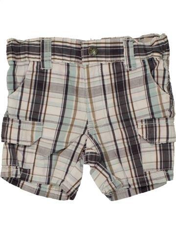 Short - Bermuda garçon IMPIDIMPI gris 6 mois été #1492510_1