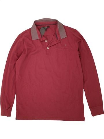 Polo manches longues garçon MARKS & SPENCER violet 14 ans hiver #1492627_1