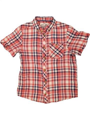 Chemise manches courtes garçon MATALAN rose 8 ans été #1492755_1