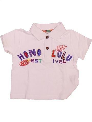 Polo de manga corta niño LA COMPAGNIE DES PETITS rosa 18 meses verano #1492825_1
