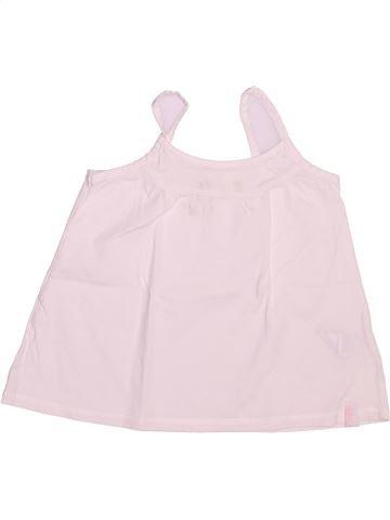 T-shirt sans manches fille OKAIDI rose 4 ans été #1492902_1