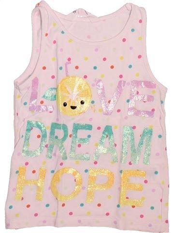 T-shirt sans manches fille H&M violet 6 ans été #1492904_1