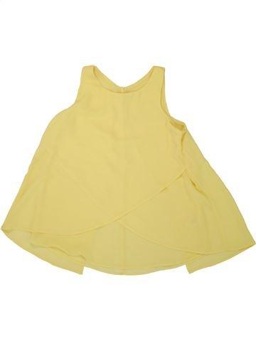 Blusa de manga corta niña C&A amarillo 12 años verano #1492945_1