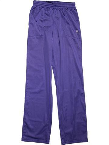 Sportswear garçon DOMYOS violet 14 ans hiver #1493133_1