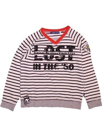 T-shirt manches longues garçon ORIGINAL MARINES marron 8 ans hiver #1493213_1