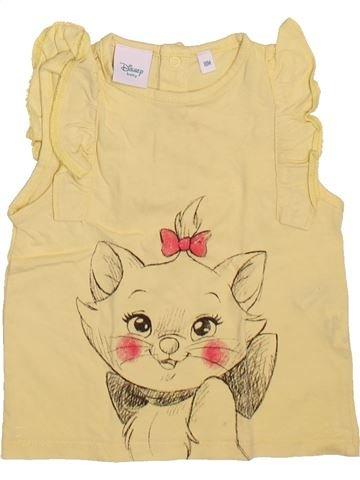 T-shirt sans manches fille DISNEY beige 18 mois été #1493282_1