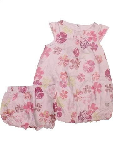 Vestido niña 3 POMMES rosa 18 meses verano #1493284_1