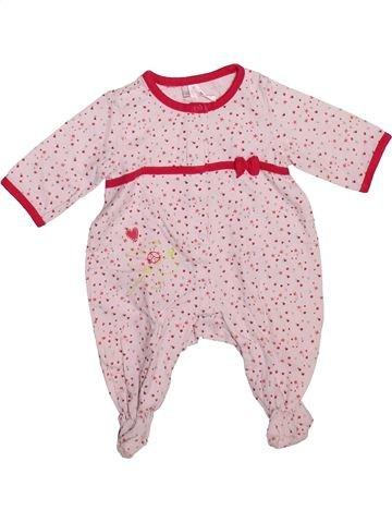 Pyjama 1 pièce fille ORCHESTRA rose 1 mois été #1493332_1