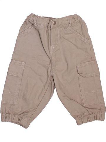 Pantalon garçon PETIT BATEAU gris 6 mois hiver #1493367_1