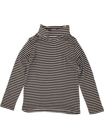 T-shirt col roulé fille LUPILU marron 6 ans hiver #1493447_1