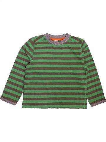 T-shirt manches longues garçon MINI CLUB vert 4 ans hiver #1493504_1