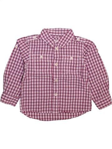 Chemise manches longues garçon H&M violet 4 ans hiver #1493578_1
