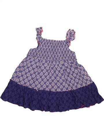 Robe fille GEORGE bleu 6 ans été #1493612_1