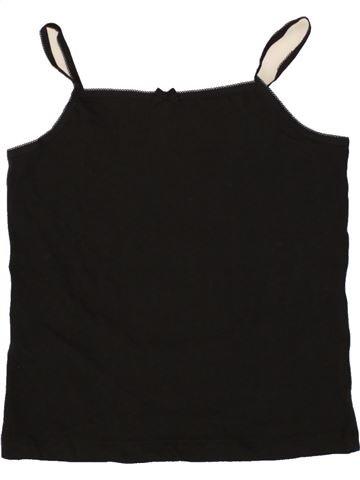 T-shirt sans manches fille PEP&CO noir 8 ans été #1493684_1