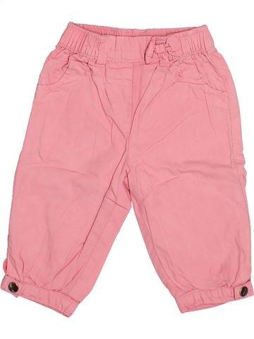 Pantalon fille KIABI rose 6 mois été #1493728_1