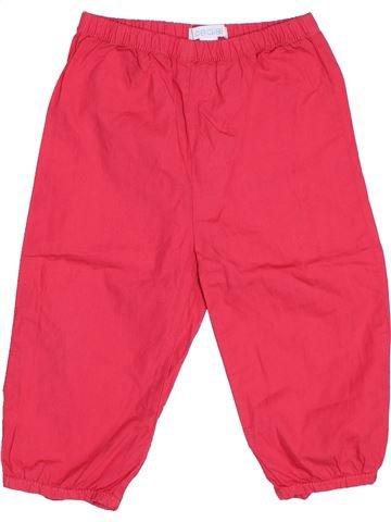 Pantalon fille OKAIDI rouge 18 mois été #1493741_1