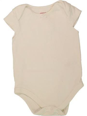 T-shirt manches courtes fille F&F bleu 9 mois été #1493821_1
