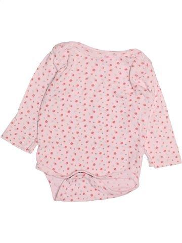Camiseta de manga larga niña GEMO rosa 6 meses invierno #1493885_1