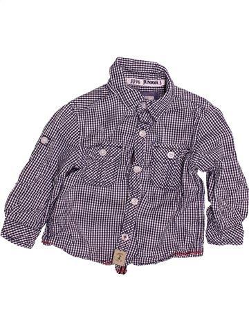 Camisa de manga larga niño JASPER CONRAN violeta 18 meses invierno #1493963_1