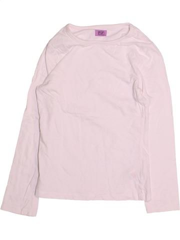 T-shirt manches longues fille F&F rose 9 ans hiver #1493970_1