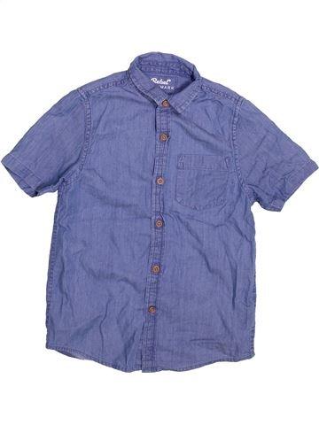 Chemise manches courtes garçon PRIMARK violet 9 ans été #1493979_1
