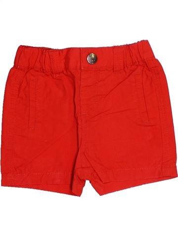Short - Bermuda garçon KIABI rouge 3 mois été #1493994_1