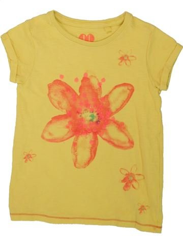 T-shirt manches courtes fille NEXT jaune 6 ans été #1494060_1