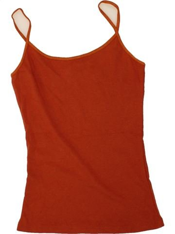 T-shirt sans manches fille NEW LOOK rouge 11 ans été #1494062_1