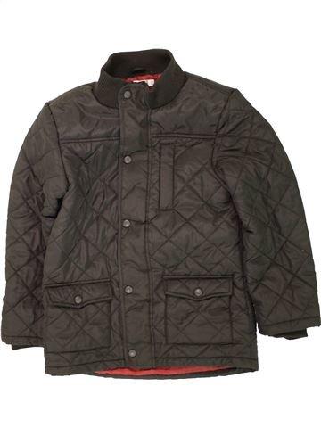 Manteau garçon M&CO marron 10 ans hiver #1494102_1