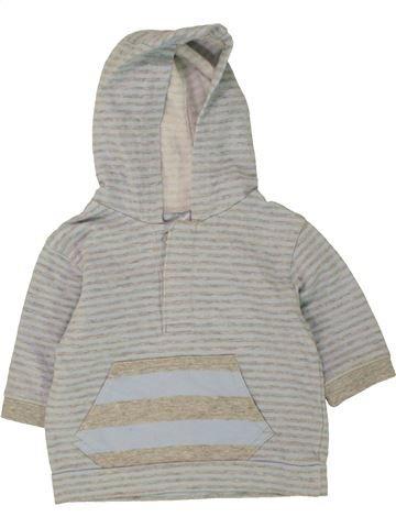 Sudadera niño CHEROKEE gris 3 meses invierno #1494118_1