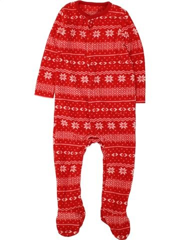 Robe de chambre fille F&F rouge 12 mois hiver #1494166_1