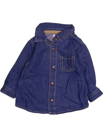 Camisa de manga larga niño KIMBALOO azul 6 meses invierno #1494174_1