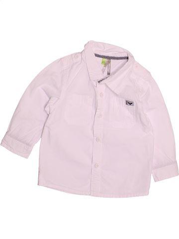 Camisa de manga larga niño ORCHESTRA rosa 12 meses invierno #1494234_1