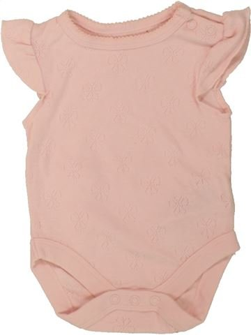 Camiseta de manga corta niña DEBENHAMS rosa 1 mes verano #1494247_1