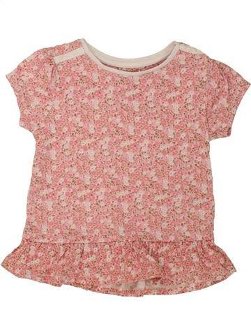 T-shirt manches courtes fille TU rose 6 ans été #1494298_1
