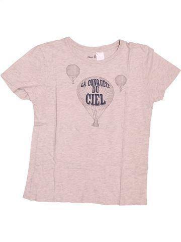 T-shirt manches courtes garçon LA REDOUTE CRÉATION violet 10 ans été #1494304_1
