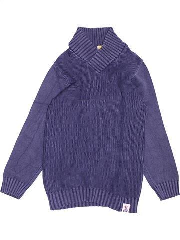 Pull garçon ORCHESTRA violet 10 ans hiver #1494311_1