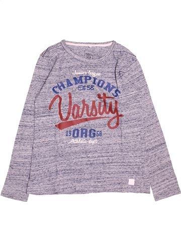 T-shirt manches longues garçon NAME IT gris 10 ans hiver #1494313_1