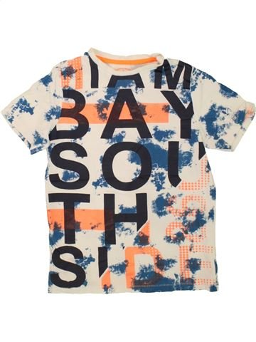 T-shirt manches courtes garçon F&F violet 10 ans été #1494352_1