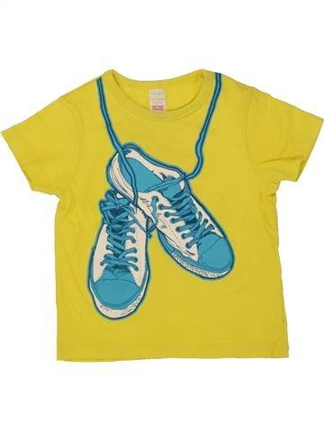 T-shirt manches courtes garçon MINI CLUB jaune 2 ans été #1494481_1