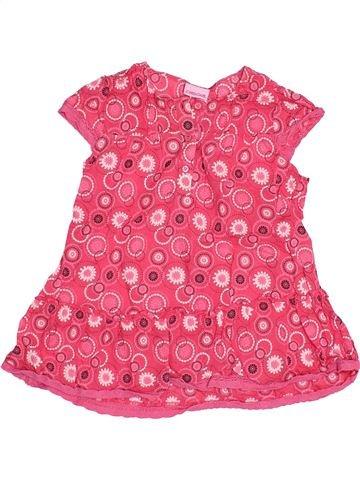 Blusa de manga corta niña CHEROKEE rosa 6 años verano #1494485_1