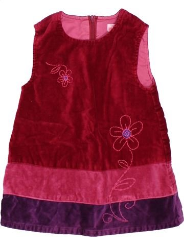 Vestido niña KIMBALOO violeta 6 meses invierno #1494506_1