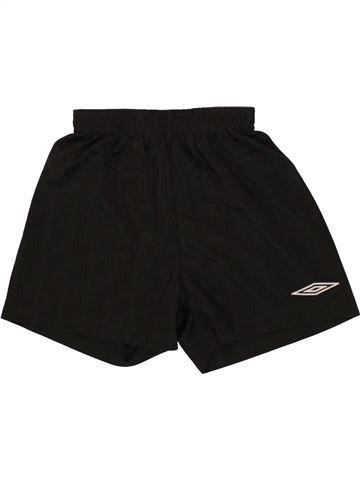 Short de sport garçon UMBRO noir 6 ans été #1494577_1