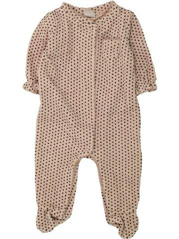 Pyjama 1 pièce fille GAP beige 3 mois hiver #1494593_1