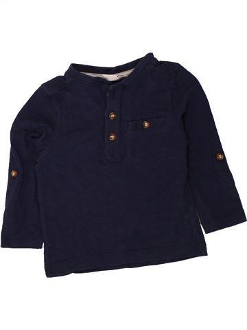 Camiseta de manga larga niño MINI CLUB negro 12 meses invierno #1494611_1