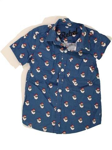 Chemise manches courtes garçon PRIMARK bleu 7 ans été #1494638_1