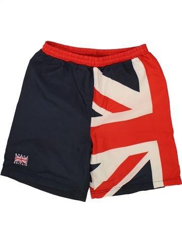Maillot de bain garçon GREAT BRITISH rouge 10 ans été #1494650_1