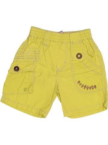 Short - Bermuda garçon CATIMINI jaune 6 mois été #1494663_1