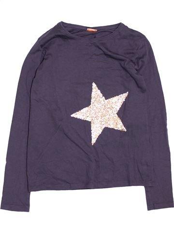T-shirt manches longues fille TAPE À L'OEIL violet 12 ans hiver #1494727_1