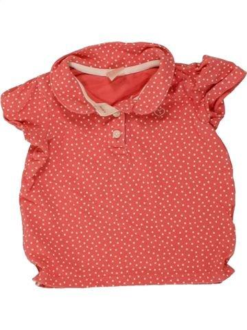 Polo de manga corta niña H&M rosa 12 meses verano #1494743_1